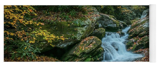 Lower Upper Creek Falls Yoga Mat