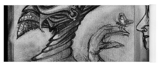 Lucifer  Sketch  Yoga Mat