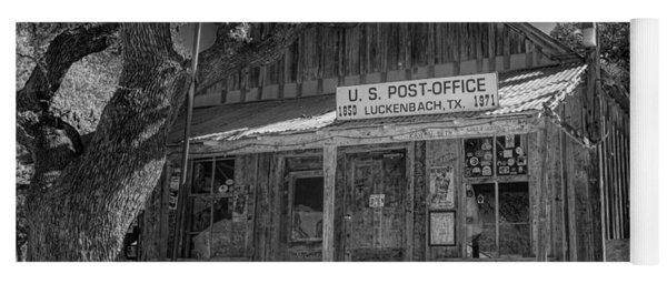 Luckenbach Tx Post Office #2 Yoga Mat