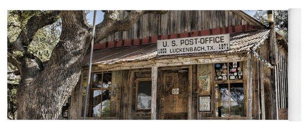 Luckenbach Tx Post Office Yoga Mat