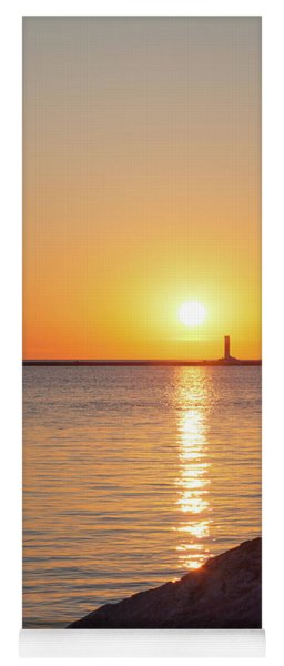 Ludington Sunset Yoga Mat