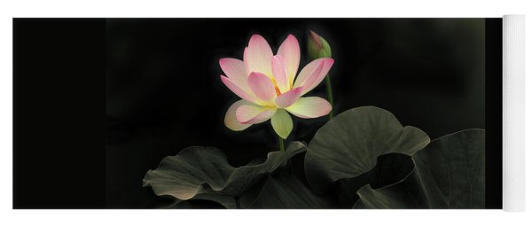 Luminous Lotus Yoga Mat