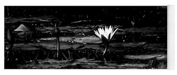 Luminous Water Lily  Yoga Mat