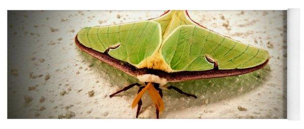 Luna Moth Yoga Mat