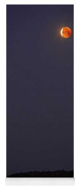 Lunar Eclipse - January 2018 Yoga Mat