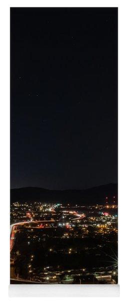 Lunar Eclipse Over Santee 2 Yoga Mat