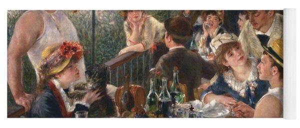 Luncheon Of The Boating Party By Renoir Yoga Mat