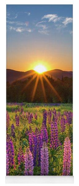 Lupine Sunrise Sugar Hill Yoga Mat