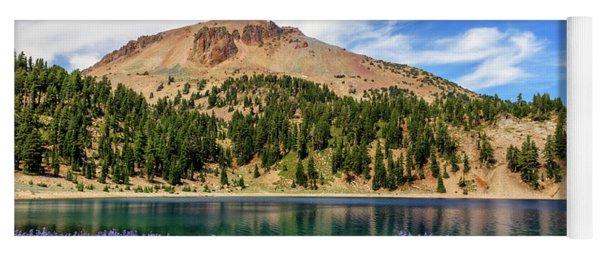 Lupines Lake And Lassen Yoga Mat