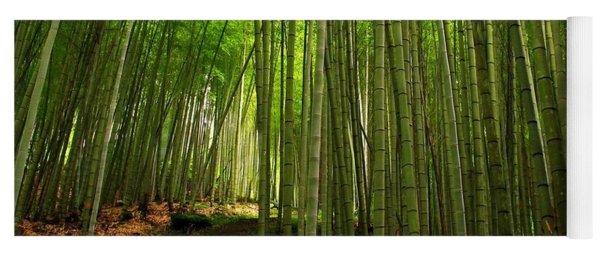 Lush Bamboo Forest Yoga Mat
