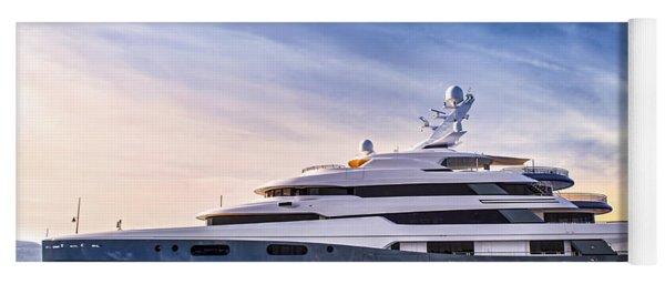 Luxury Yacht Yoga Mat