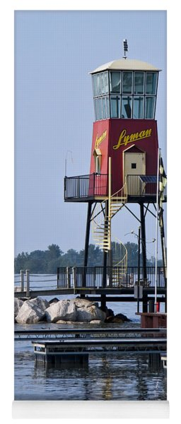 Lyman Harbor Lighthouse Yoga Mat
