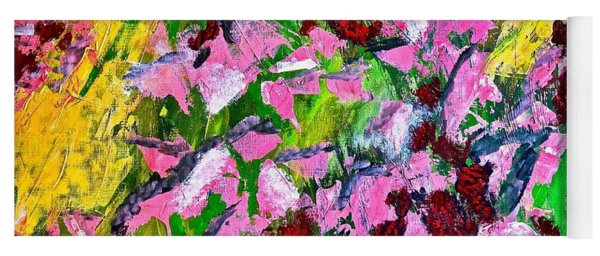 Lyrical Abstraction 201 Yoga Mat
