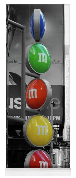 M And Ms In New York City Yoga Mat