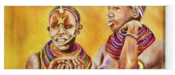 Maasai Legends Yoga Mat