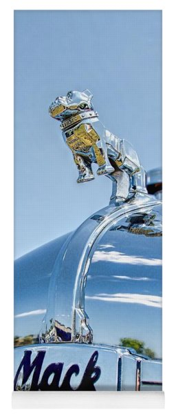 Mack Hood Ornament Yoga Mat