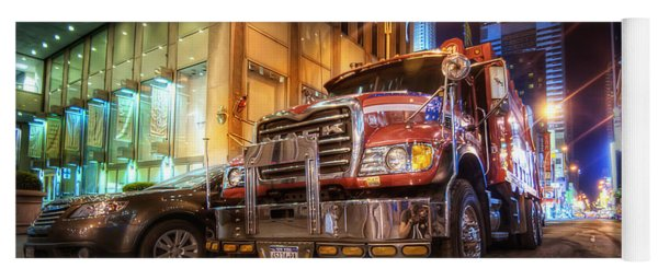 Mack Truck Nyc Yoga Mat
