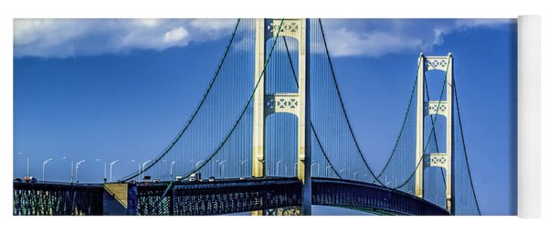 Mackinac Bridge Yoga Mat