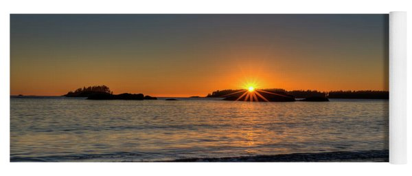Mackinsie Beach Sun Burst Yoga Mat