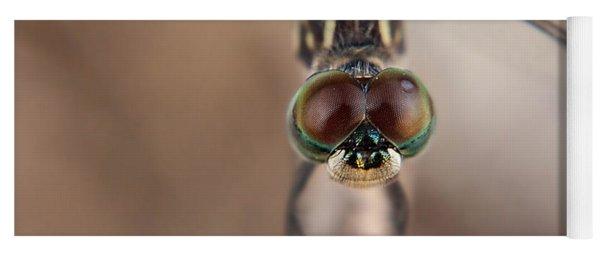 Macro Dragonfly Yoga Mat