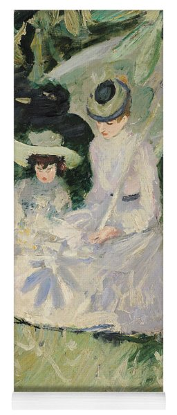 Madame Helleu And Her Daughter At The Chateau Of Boudran Yoga Mat