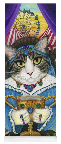 Madame Zoe Teller Of Fortunes - Queen Of Cups Yoga Mat