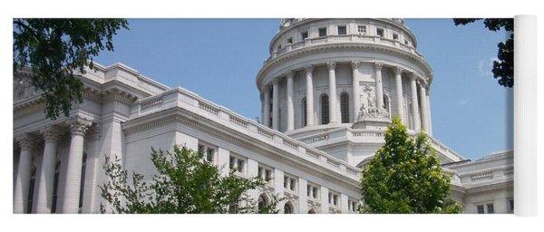 Madison Wi State Capitol Yoga Mat