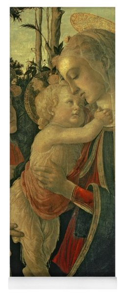 Madonna And Child With St. John The Baptist Yoga Mat
