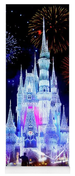 Magic Kingdom Fireworks Yoga Mat