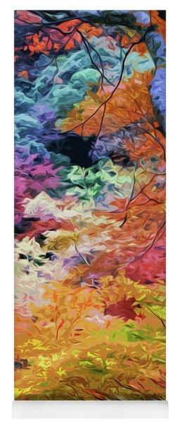 Magical Autumn Yoga Mat