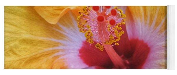 Magical Hibiscus  Yoga Mat