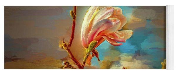 Magnolia Abs #h4 Yoga Mat