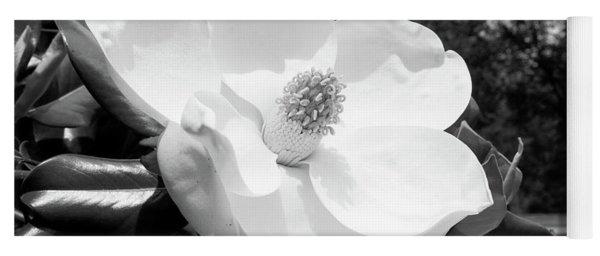 Magnolia Bloom- By Linda Woods Yoga Mat