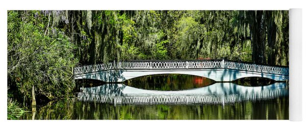 Magnolia Plantation Bridge - Charleston Sc Yoga Mat