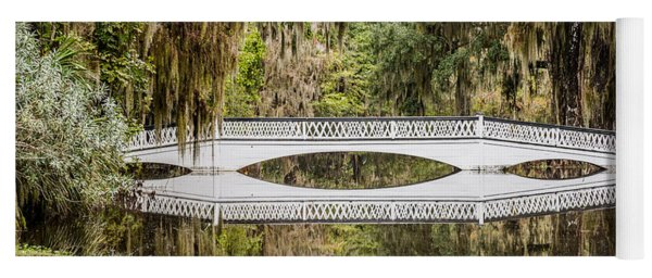 Magnolia Plantation Gardens Bridge Yoga Mat