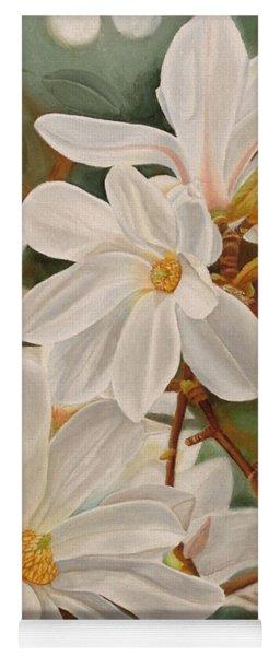 Magnolias Yoga Mat