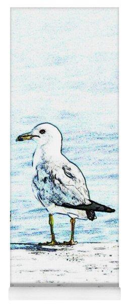 Maine Seagull Yoga Mat