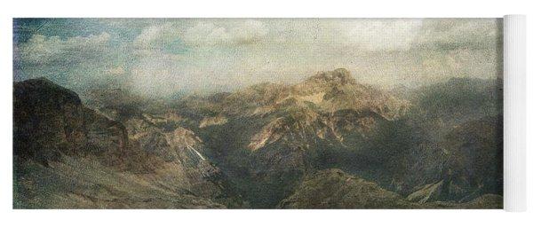 Majestic Dolomites Yoga Mat