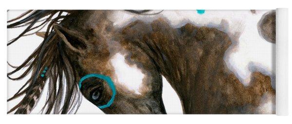 Majestic Horse #151 Yoga Mat