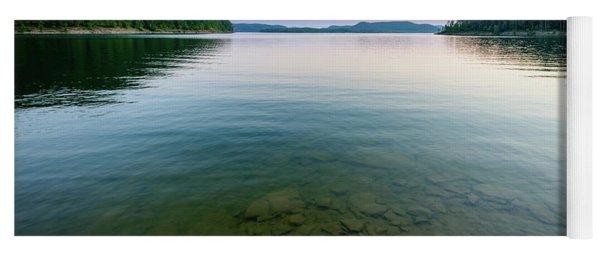 Majestic Lake Yoga Mat