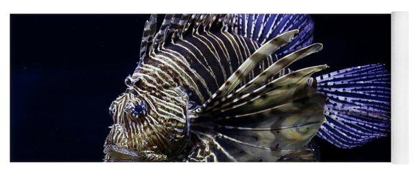 Majestic Lionfish Yoga Mat