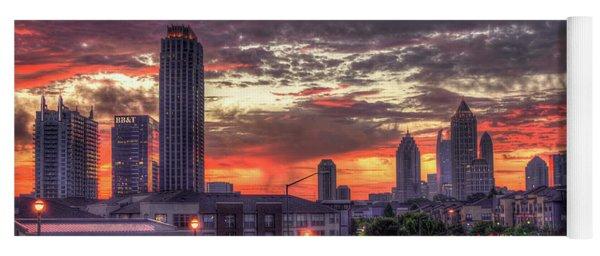 Majestic Sunrise Midtown Atlanta Yoga Mat