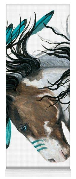 Majestic Turquoise Horse Yoga Mat
