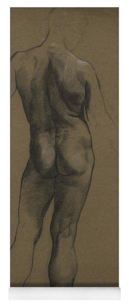 Male Nude Study Yoga Mat