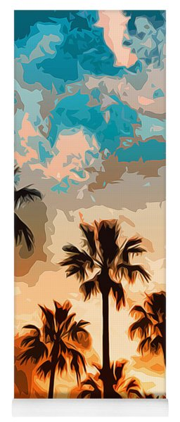 Malibu Beach - Heaven's Sky Yoga Mat