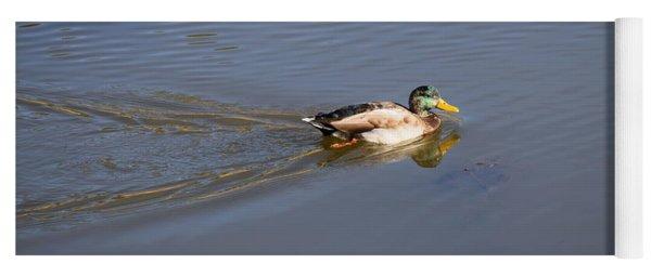 Mallard Duck Burgess Res Co Yoga Mat