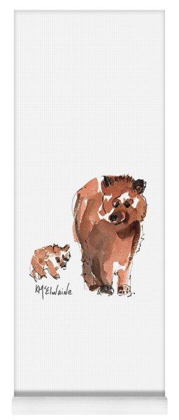 Mama And Baby Series Bear Yoga Mat