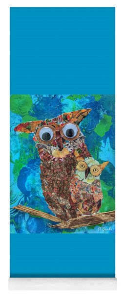 Mamma And Baby Owl Yoga Mat