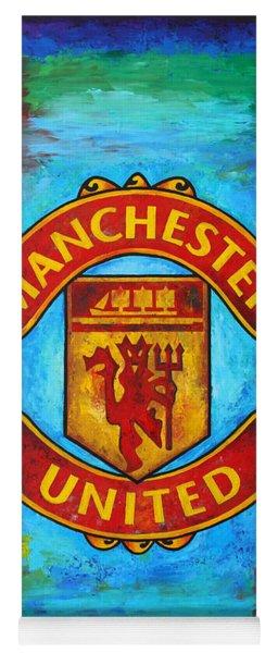 Manchester United Vintage Yoga Mat