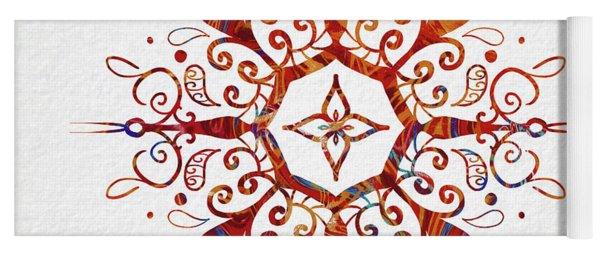 Mandala Art 2 Yoga Mat